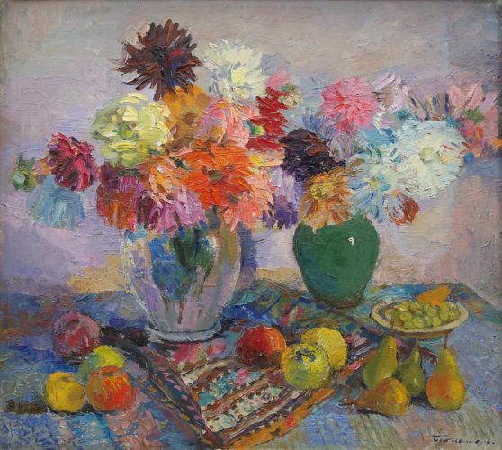 Квіти і фрукти