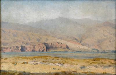 Середньоазійський пейзаж. Етюд
