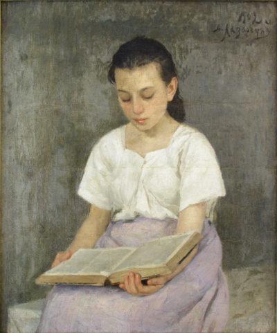 Дівчина з книгою