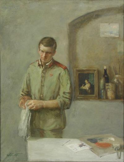 Будні полкового художника