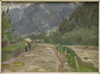 Дорога в Яблунець