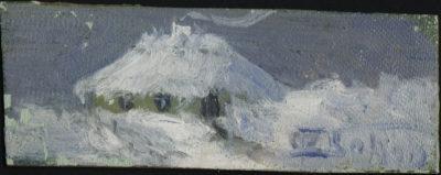 Зима. Етюд