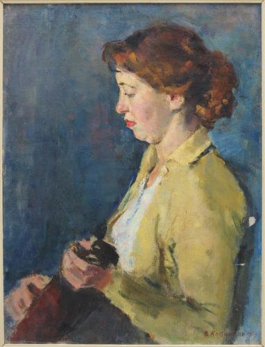 Жіночий портрет