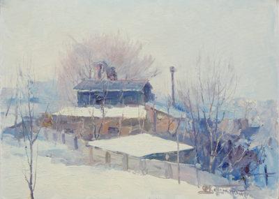 Завод Дзержинського. Етюд
