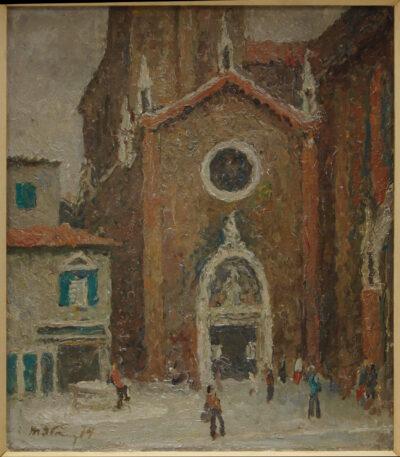 Венеція. Храм Санта Марія Фрарі