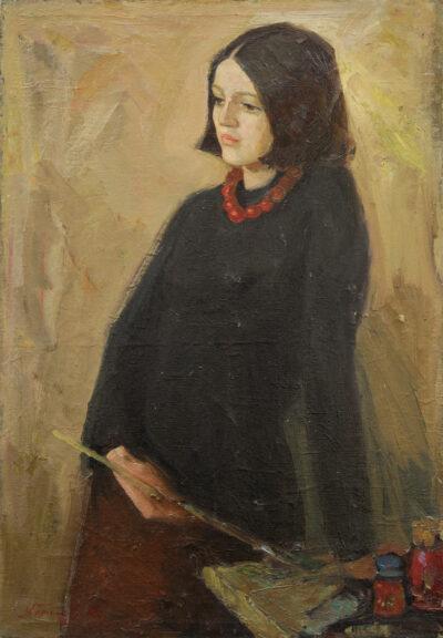 Портрет Олени Скорупської
