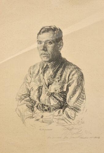 Портрет М. Ларченко