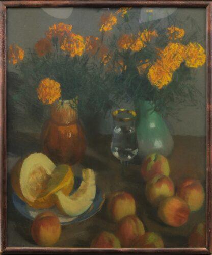 Диня і персики