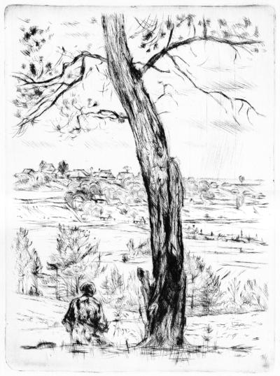 Під деревом