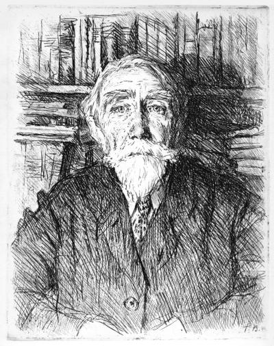 Портрет мистецтвознавця Романова
