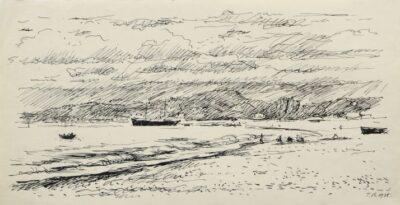 На березі затоки