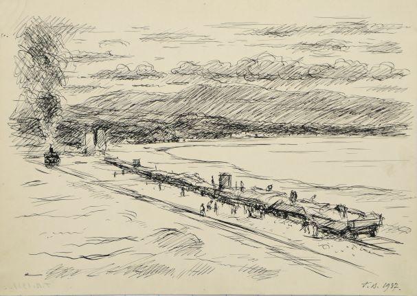 Будівництво залізниці